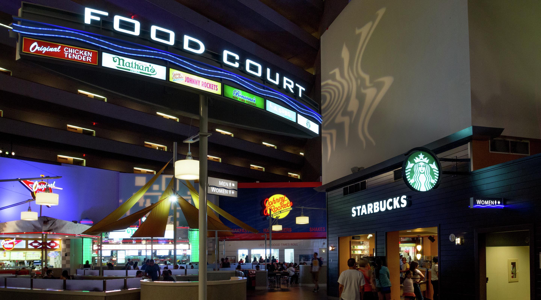 Fast Food Restaurants In Las Vegas Food Court Luxor