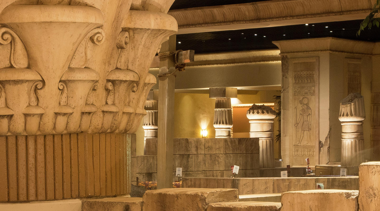 Luxor in room dining menu