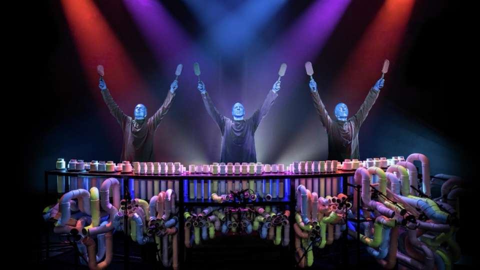 Blue man group luxor - Blue man group box office ...